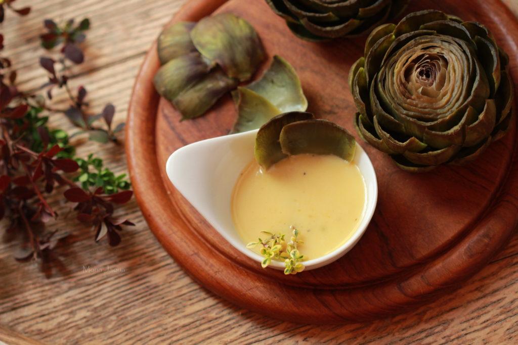 Artyčoky s Beurre au citron