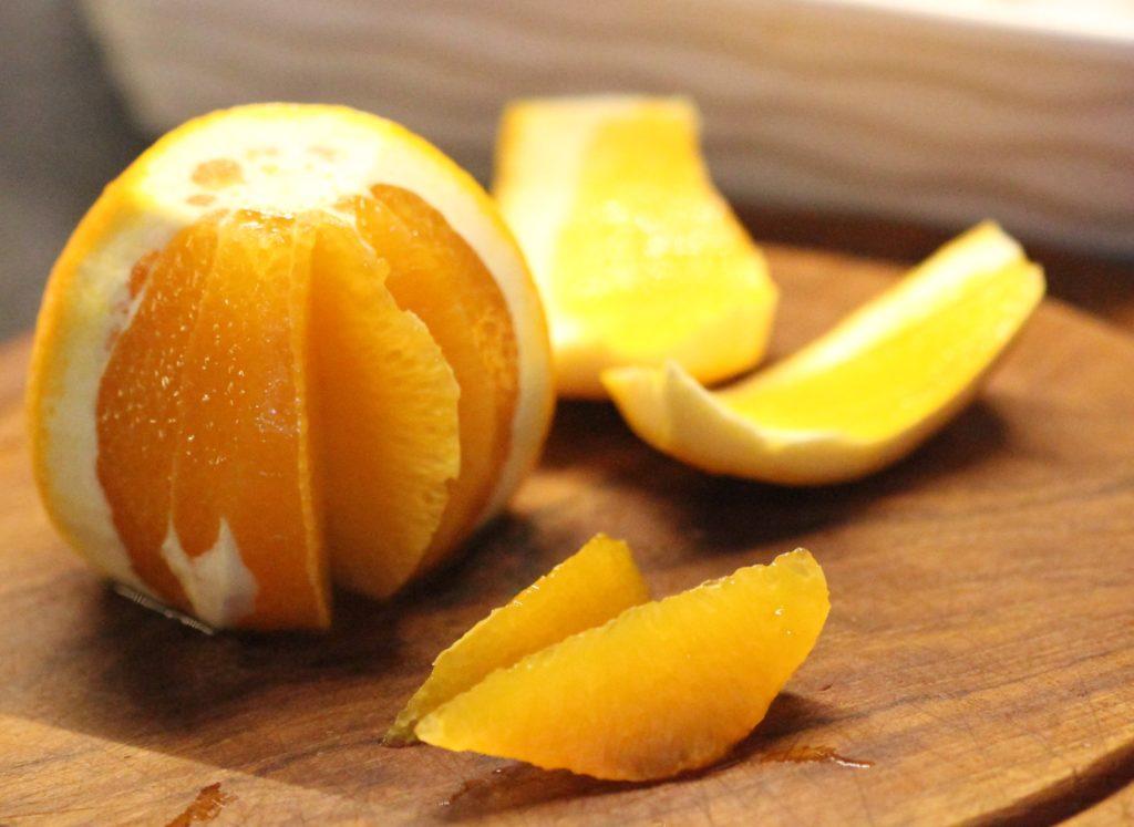 Filetování citrusů