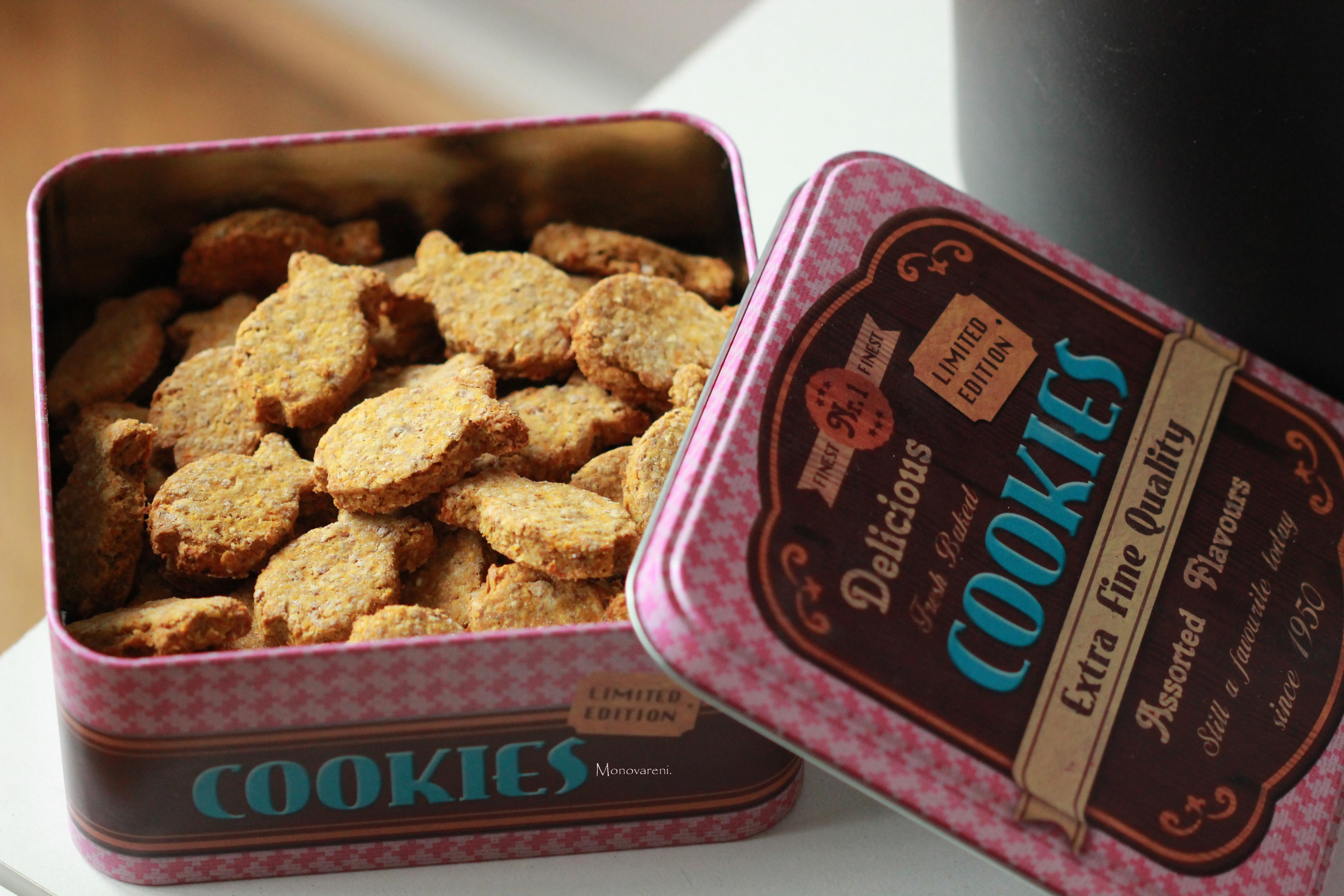 Psí sušenky bez mouky