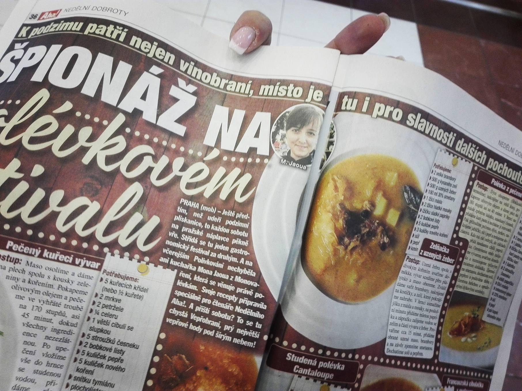 Nedělní Aha! – moje polévky