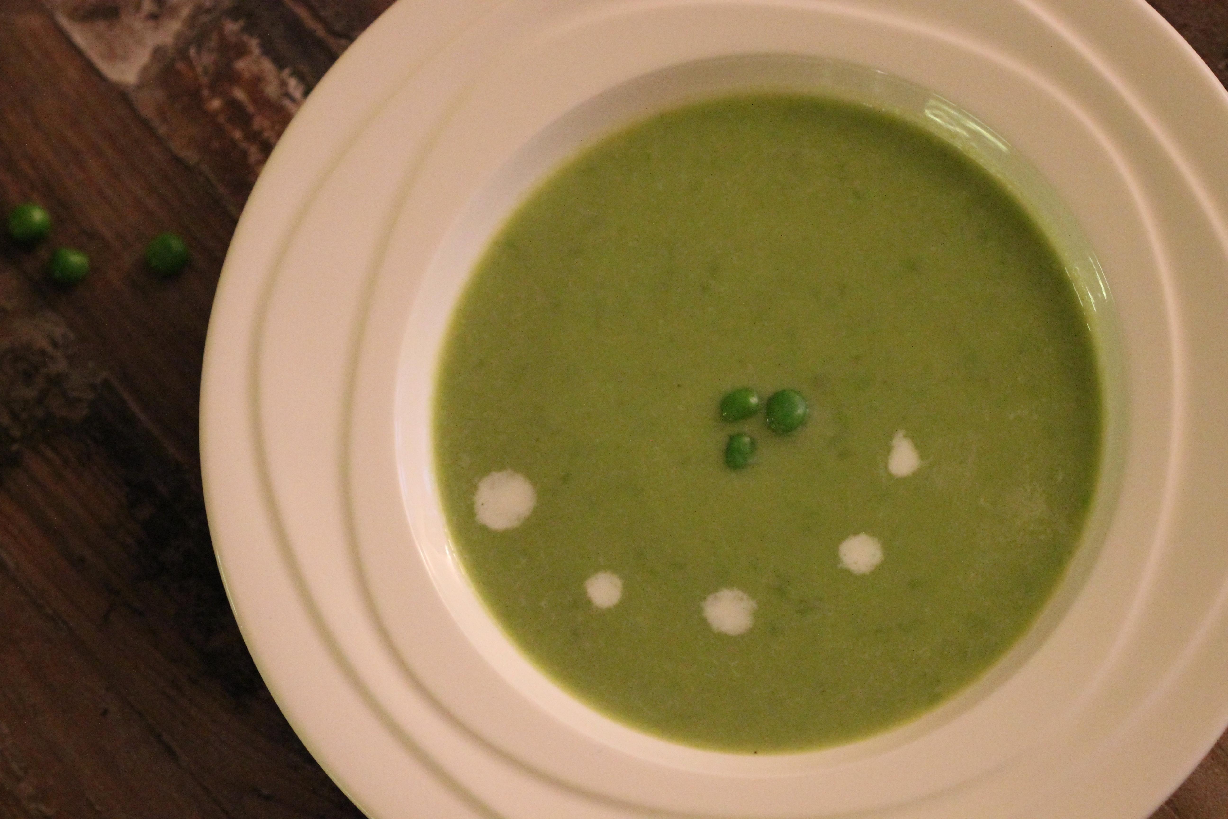 Rychlá hrášková polévka